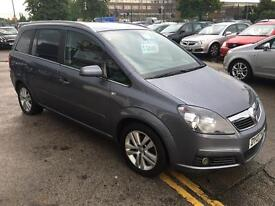 07 Vauxhall Zafria 1.6 design immaculate 7 seater