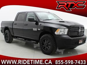 Lifted 2016 Ram 1500 SXT - Crew Cab, Toyo Open Country M/T's