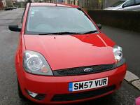 Ford fiesta low miles 38000
