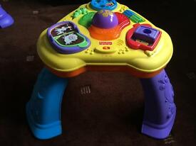 Fisher price light and sound table!!