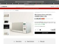 IKOHS Microwave Oven with Grill - HW800-GRILL 23L, used for 1 month , RRP £149