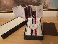 Daniel wellington watch 40mm rose Gold new