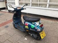PIAGGIO Vespa et2 blue 50 cc spare or repair bargain!!