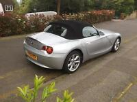 BMW Z4 2.2i silver/ black leather/power roof