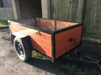 6x3 metal frame trailer car /van