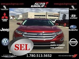 2016 Ford Edge SEL   AWD   Fuel Efficient