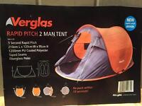 Verglas 2 person tent Rapid pitch for Sale £13
