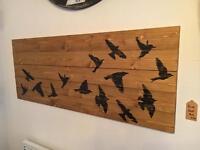 Handmade Bird Wall Art/picture