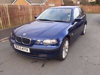 2003 BMW 320d Compact - 7 months MOT, plenty of work done recently