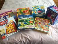Children's games selection