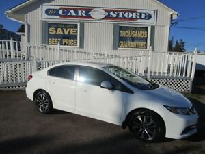 2013 Honda Civic EX SUNROOF HTD SEATS 5SP STD AIR CRUISE!!
