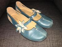 Hotter ladies shoes size 8 - green