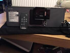 Sony speaker dock for iPod/iPhone