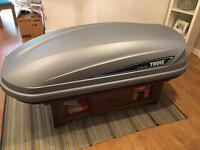 Thule Ocean Pacific roof box & Thule cross bars
