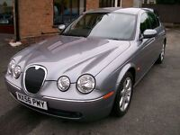 JAGUAR 'S' TYPE. DIESEL. FULL SERVICE HISTORY. 2720cc. IMMACULATE CONDITION.