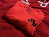 New Nike Air Sweatshirt Red Large