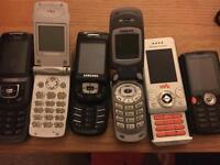 Retro Flip/Sliding phones