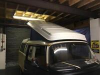 Genuine VW 1973 Westfalia Camper Pop Top Canvas Roof with Roof Rack