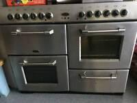 7 ring range cooker