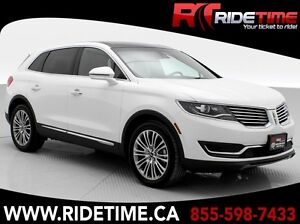 2016 Lincoln MKX Reserve AWD - White Platinum Tricoat Paint w/ T