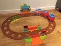 Happy land motion train set