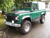 1987 land rover 110 pick up...***possible swap***
