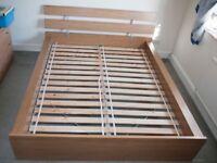 Ikea Hopen Double Bed Frame Oak
