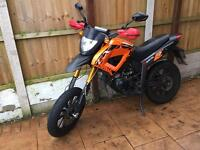 2014 Keeway tx 50 - 50cc styled supermoto- ride on cbt at 16