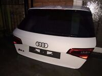 2015-2016 AUDI RS3 TAILGATE COMPLETE WITH GLASS,WIPER,SPOILER,LED LIGHTS COMPLETE.
