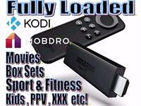 Amazon Firestick fully loaded with latest Kodi 17.1 Krypton and NEW The Beast KRYPTONITE