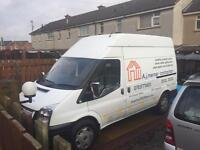 Ford transit 2008, mot July 118k immaculate high top mwb £3200
