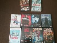 10 DVDs' including first two series of Greys anatomy box sets