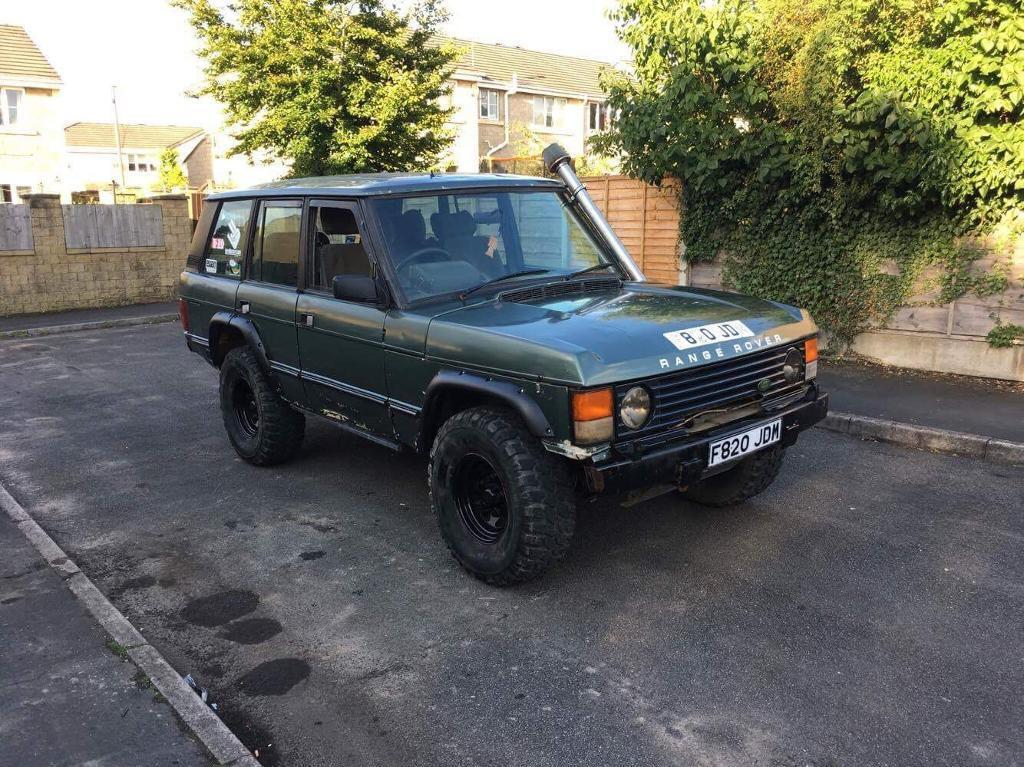 Range Rover vogue classic off roader