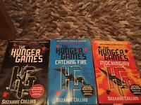 The hunger games trilogy book