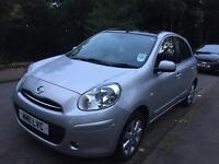 2011 nissan micra 1.2 petrol 5 door hatchback low mileage