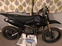 198 cc pitbike big wheel! Mint condition.