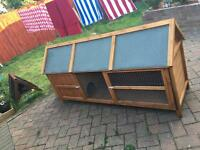 Large hutch, fantastic new condition!