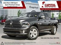 2015 Ram 1500 | HEATED LEATHER | UCONNECT 8.4 | HEMI