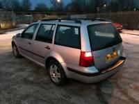 Volkswagen golf tdi estate very clean car