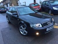 AUDI A4 2.0 FSI PETROL AUTOMATIC 2004 SALOON 2 FORMER OWNER 14 STAMPS 2 KEYS CLEAN LONG MOT