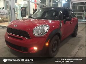 2012 MINI Cooper S Countryman AWD, LOADED, LEATHER, TOIT PANO!