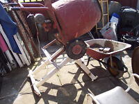 electric cement mixer Home made stand not included but we can deal with that seperately