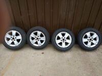 Skoda Octavia Alloys 15 inch with Tyres