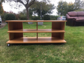 IKEA TV / Video etc stand in wood approx 120 * 45 * 40cm