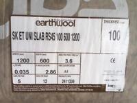Earthwool rs45 100mm x 1200 x 600 batts