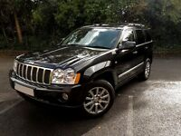 Jeep Grand Cherokee 4wd Overland Model, Fully Loaded 3.0L merc diesel engine. Stunning, 1 owner