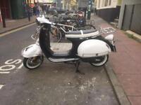 Retro AJs 50cc scooter