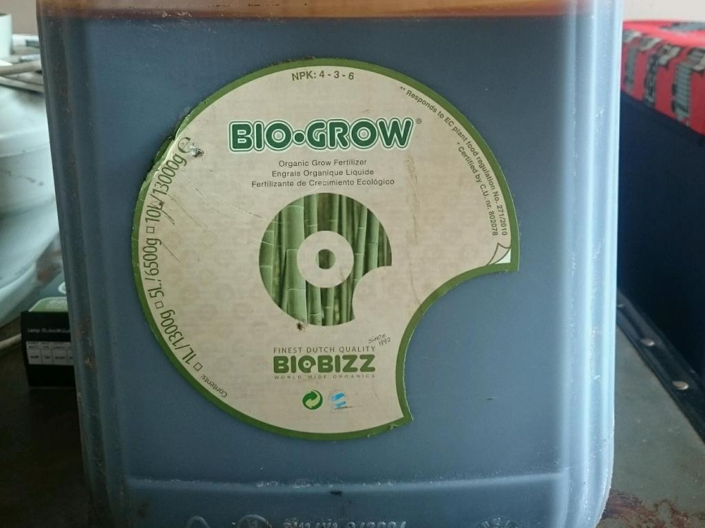 Bio grow bio bizz 5l Organic grow fertilizer hydroponicin Kimberley, NottinghamshireGumtree - Bio grow bio bizz 5l Organic grow fertilizer hydroponic unopened half price £30 elsewhere other feed also available