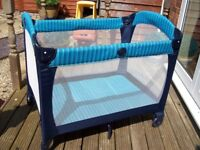 GREAT CONDITION GRACO TRAVEL COT WITH CARRY BAG
