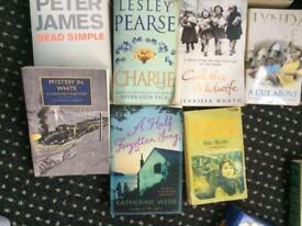 Books paperback £1- each, can send by courier service as in isolation due to health
